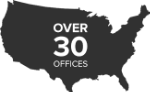 over 30 offices
